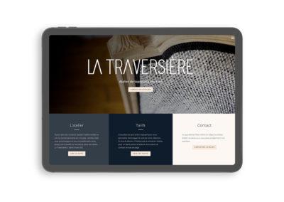 Site vitrine WordPress – La Traversière
