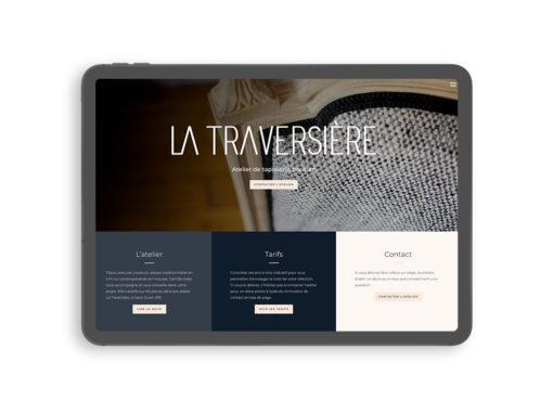 La Traversière – Création d'un site vitrine WordPress